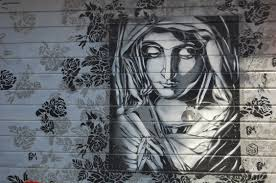 graffiti-religious art